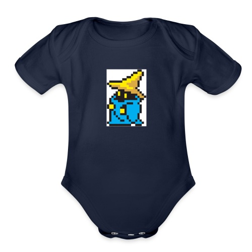 BLKMVGE - Organic Short Sleeve Baby Bodysuit