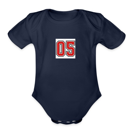 Team 05 - Organic Short Sleeve Baby Bodysuit