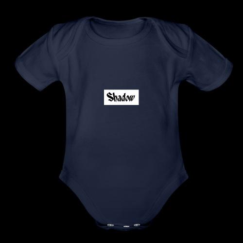 Shadow - Organic Short Sleeve Baby Bodysuit