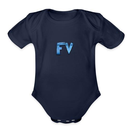 FV - Organic Short Sleeve Baby Bodysuit
