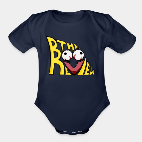 The Boo Review Icon - Organic Short Sleeve Baby Bodysuit