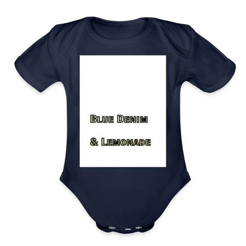 Blue Denim and Lemonade Brand - Organic Short Sleeve Baby Bodysuit