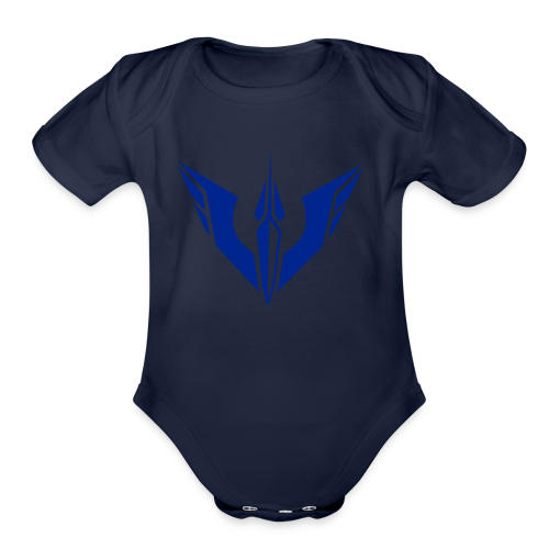 Classic DoomBlazer Merch - Organic Short Sleeve Baby Bodysuit