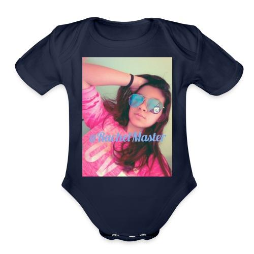 Rachel powers merchandise - Organic Short Sleeve Baby Bodysuit