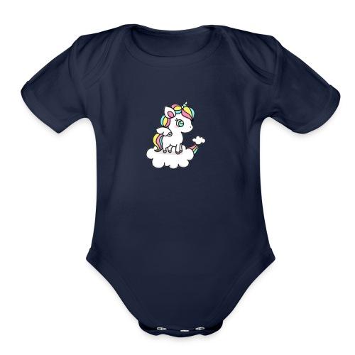 IMG 3930 - Organic Short Sleeve Baby Bodysuit