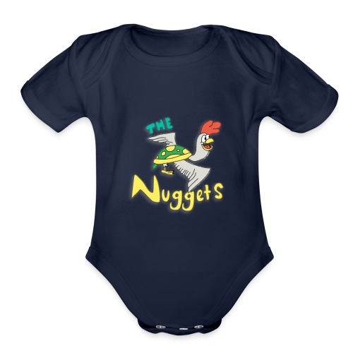 The Nuggets - Organic Short Sleeve Baby Bodysuit