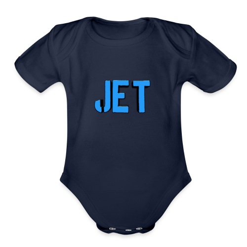 Jet merch - Organic Short Sleeve Baby Bodysuit