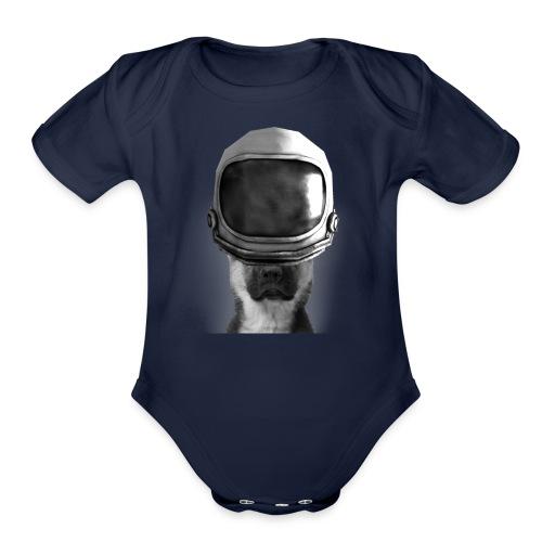 APOLLO LANDING - Organic Short Sleeve Baby Bodysuit