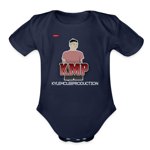 Merch with KylemcleePRODUCTION! - Organic Short Sleeve Baby Bodysuit