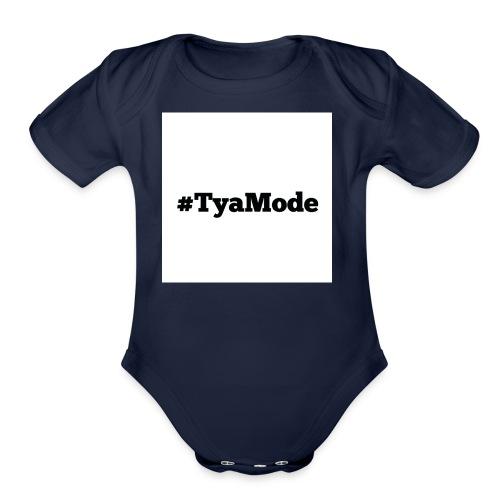Tya Mode - Organic Short Sleeve Baby Bodysuit