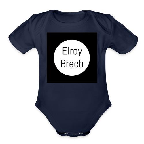 Elroy Brech - Organic Short Sleeve Baby Bodysuit