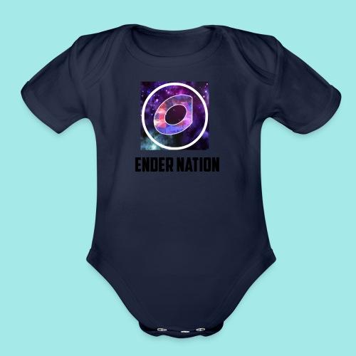 Ender Nation - Organic Short Sleeve Baby Bodysuit