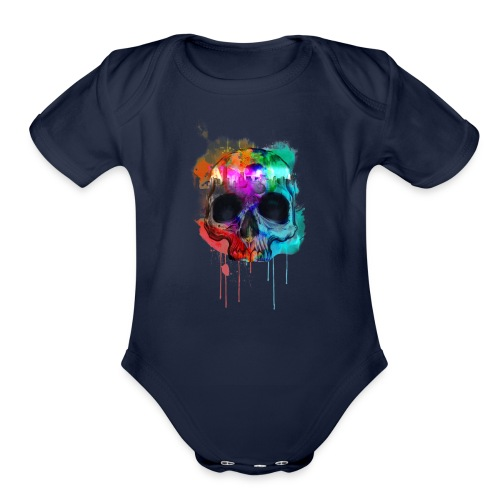 Death Art - Organic Short Sleeve Baby Bodysuit