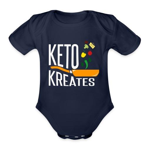 Keto Kreates - Organic Short Sleeve Baby Bodysuit