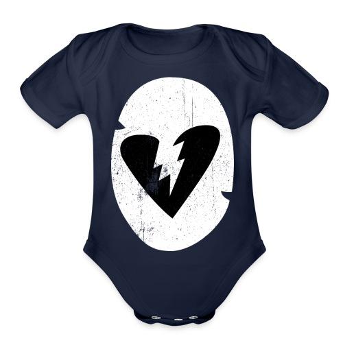 Cuddle Team Leader - Organic Short Sleeve Baby Bodysuit