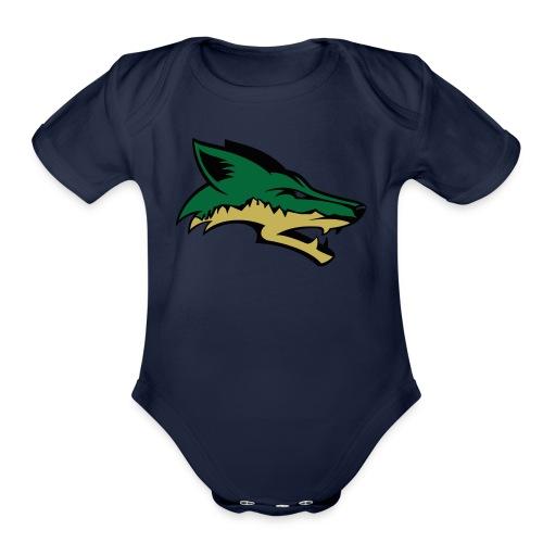 Skyline Coyote - Organic Short Sleeve Baby Bodysuit