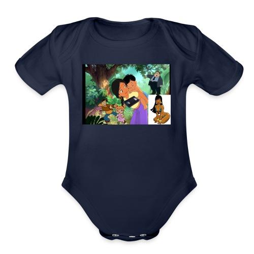 bill0090 bill0090 shirt - Organic Short Sleeve Baby Bodysuit