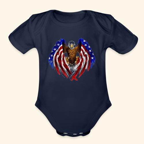 Bricens Merch - Organic Short Sleeve Baby Bodysuit