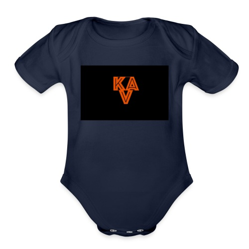 A NATION - Organic Short Sleeve Baby Bodysuit