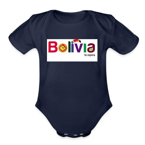 Bolivia te espera - Organic Short Sleeve Baby Bodysuit