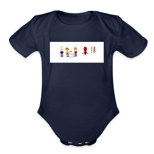 All Garney Members - Organic Short Sleeve Baby Bodysuit
