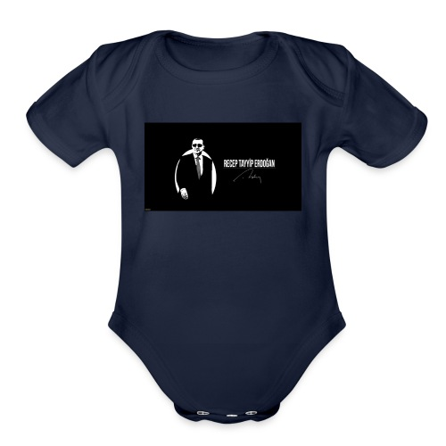 t-shirt design spain - Organic Short Sleeve Baby Bodysuit