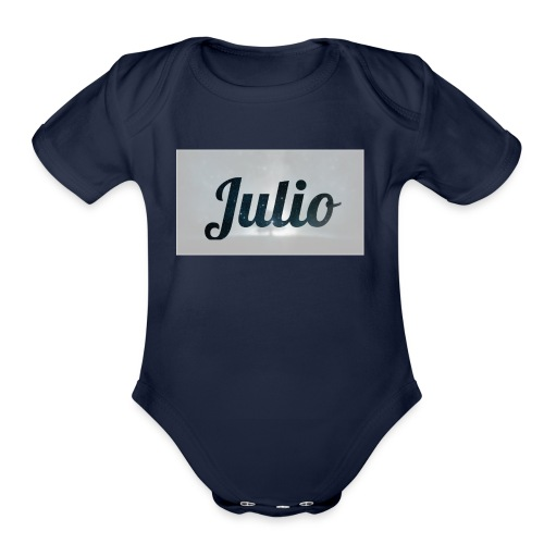 julio films - Organic Short Sleeve Baby Bodysuit