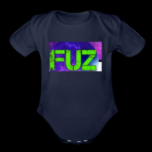 FuzMerchShop - Organic Short Sleeve Baby Bodysuit