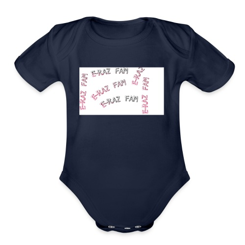 FIRST E-RAZ MERCH - Organic Short Sleeve Baby Bodysuit