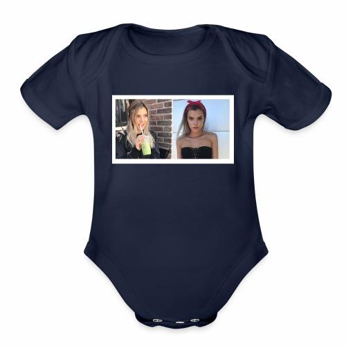 AlissaViolettt - Organic Short Sleeve Baby Bodysuit