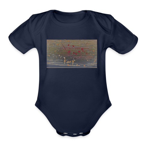 kiik 4 - Organic Short Sleeve Baby Bodysuit