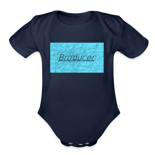 My Merchandise - Organic Short Sleeve Baby Bodysuit