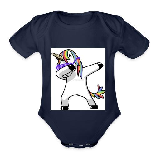 DAAE10D3 68D2 4EBC 86B0 78C84F4C61AA - Organic Short Sleeve Baby Bodysuit