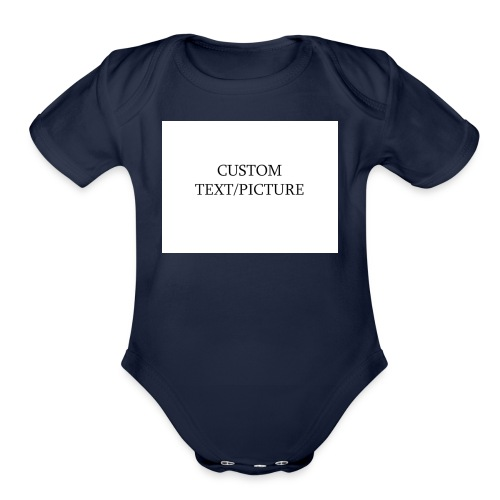 example - Organic Short Sleeve Baby Bodysuit