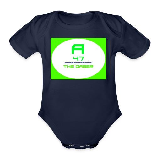 Logo 4 - Organic Short Sleeve Baby Bodysuit