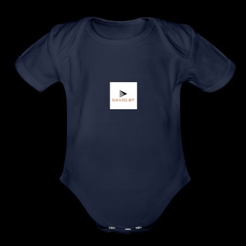 david.bt - Organic Short Sleeve Baby Bodysuit
