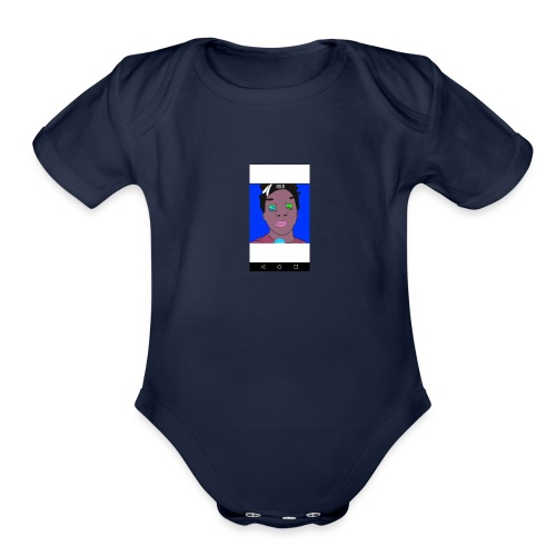 nello - Organic Short Sleeve Baby Bodysuit