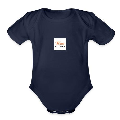 Texas holden branding and designs - Organic Short Sleeve Baby Bodysuit