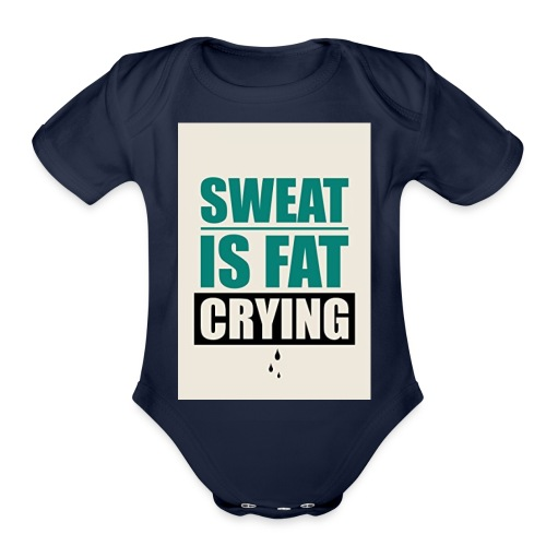 Gym Motivation 2017 Tank Top - Organic Short Sleeve Baby Bodysuit