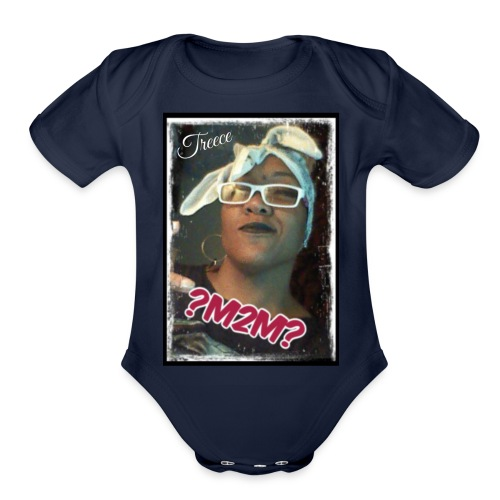 Plus Size - Support the movement by Treece ?M2M? - Organic Short Sleeve Baby Bodysuit