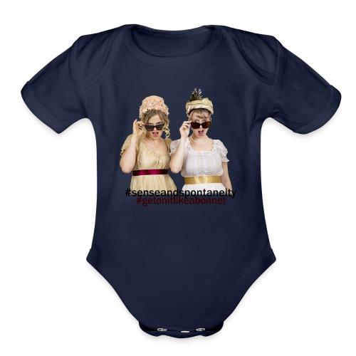 Shady Ladies - Organic Short Sleeve Baby Bodysuit
