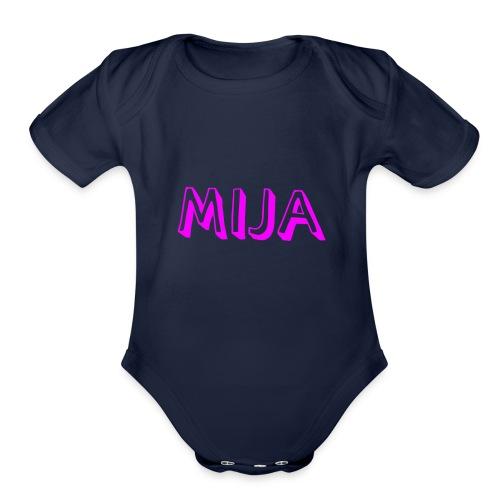 Mija - Organic Short Sleeve Baby Bodysuit