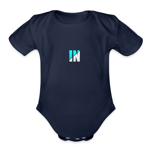 Server Logo - Organic Short Sleeve Baby Bodysuit