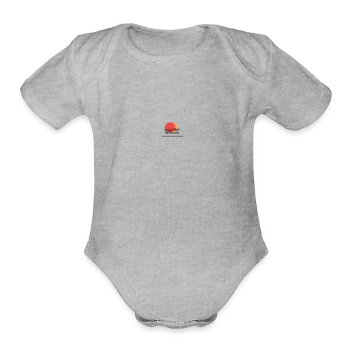 logo for lucas - Organic Short Sleeve Baby Bodysuit