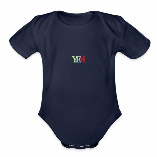 YEMpolo - Organic Short Sleeve Baby Bodysuit