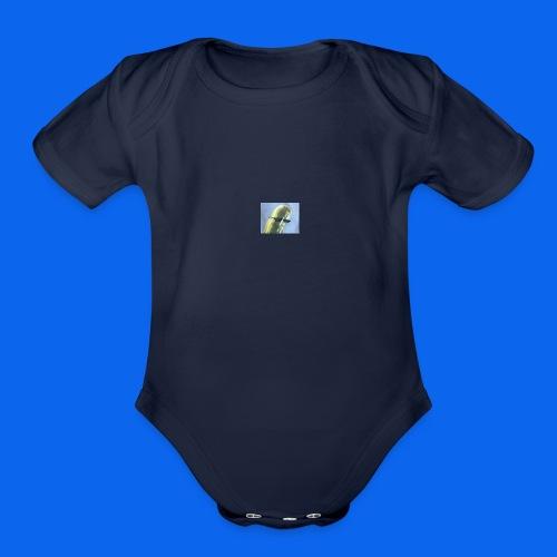 PICK303 - Organic Short Sleeve Baby Bodysuit