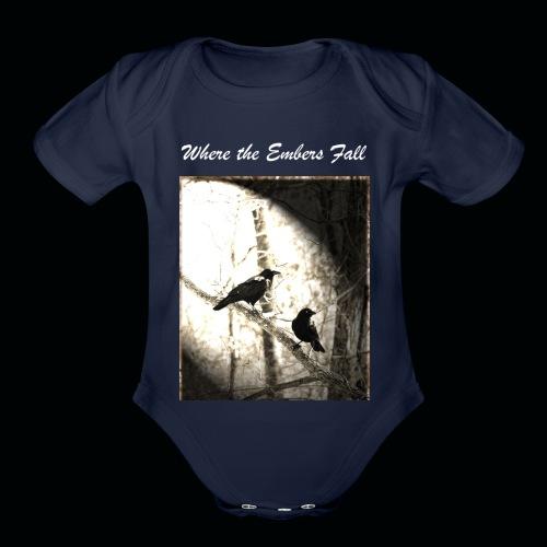 True Fate - Birds - Organic Short Sleeve Baby Bodysuit