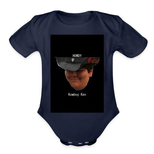 Howdy - Organic Short Sleeve Baby Bodysuit