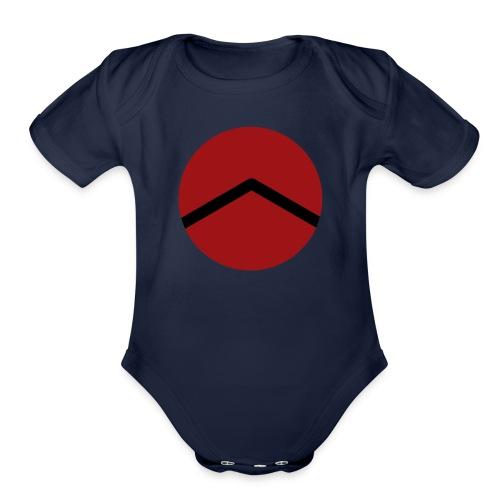 Spartan A - Organic Short Sleeve Baby Bodysuit