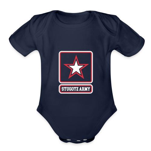 The Stugotz - Organic Short Sleeve Baby Bodysuit